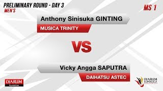 Download Video PRELIMINARY ROUNDS | MS1 | GINTING (MUSICA TRINITY) VS VICKY  (DAIHATSU ASTEC) MP3 3GP MP4