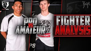Amateur MMA Fighter Analysis (vs Pro)