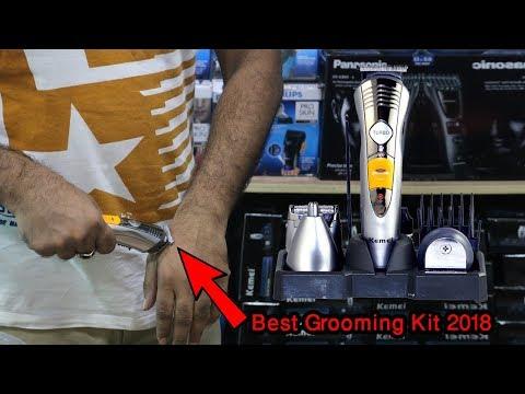 Kemei KM-580A Hair Clipper   Beard Trimmer   Clean Shaver Razor Grooming(Shaver Shop Bangladesh)