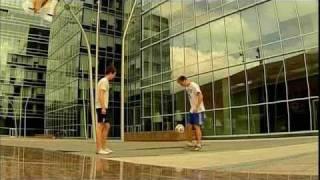 Футбольный фристайл в программе Галилео на СТС