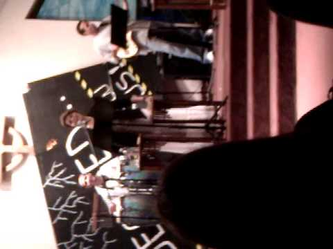Melissa Vallejo@ Zion Church starting to preach