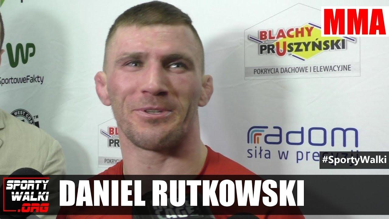 Daniel Rutkowski po Babilon MMA 3