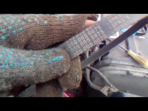 Как натянуть ремень генератора на дэу нексия 16 клапанов видео
