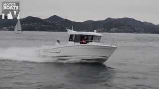 Jeanneau Merry Fisher 695 Marlin tested with MBM