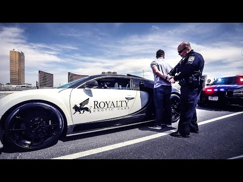 POLICE ARREST BUGATTI OWNER FOR IMPEEDING TRAFFIC!