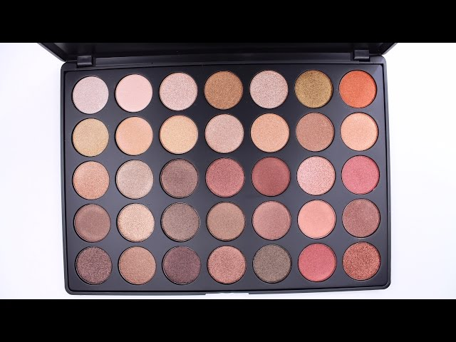 New Morphe Brushes 35os Palette Swatches Youtube