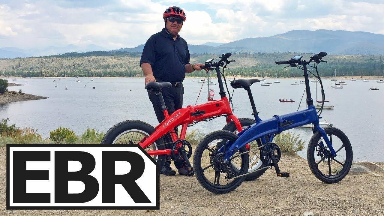 Sondors Fold Sport Video Review 1k Folding Electric Bike Hidden Battery Sy Cast Rims