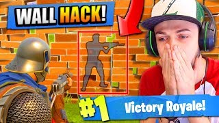 How to WALL HACK in Fortnite: Battle Royale!
