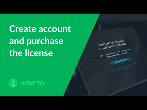 Quantower Licenses. How to create an account and purchase the license