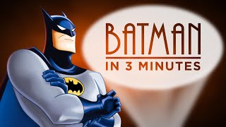Batman: The Animated Series ENTIRE STORY in 3 Minutes! | ArcadeCloud