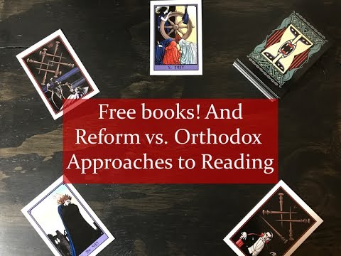 Free Books and Reform vs. Orthodox Approaches