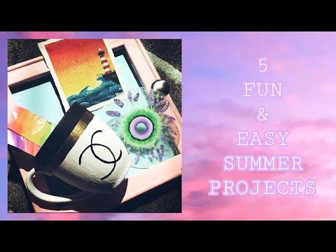 summer-art-projects|-fun-crafts-and-diys-to-do-at-home