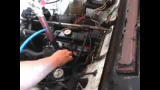 essai moteur 4L 100%HHO