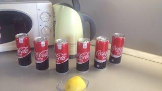 Кока-кола+Лимонный сок, против городской воды /БУРЕНИЕ СКВАЖИН СВОИМИ РУКАМИ/ НАУЧИТЬСЯ БУРИТЬ/