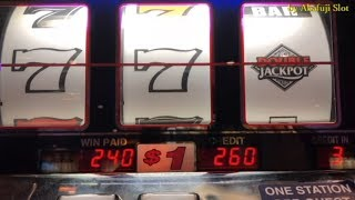 Black and White Slot Machine on Free Play - $1 Slot - Max Bet - 3 Reels @ Pechanga Resort & Casino
