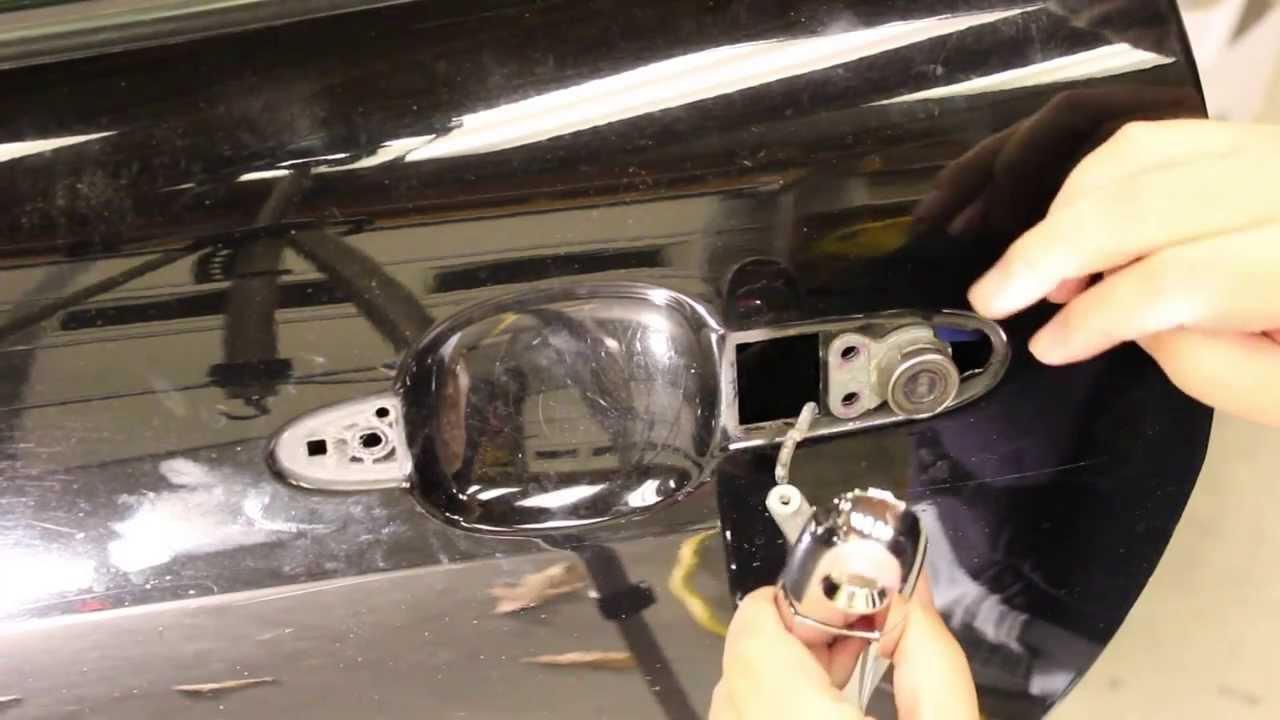 Saturn Sky Door Handle Repair Youtube