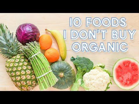 10 Foods I NEVER Buy Organic