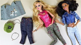 ★DIY-바비인형 옷,목걸이,가방 직접 만들기/패셔니스…