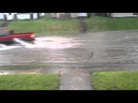 Flooding in muncie indiana.
