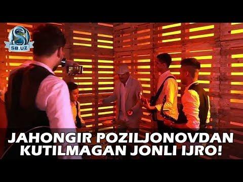 Jahongir Poziljonovdan Jonli Ijroni Yomoni!!!