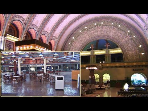 St Louis Union Station, May 2017 - Grand Hall and Closed Shopping Center