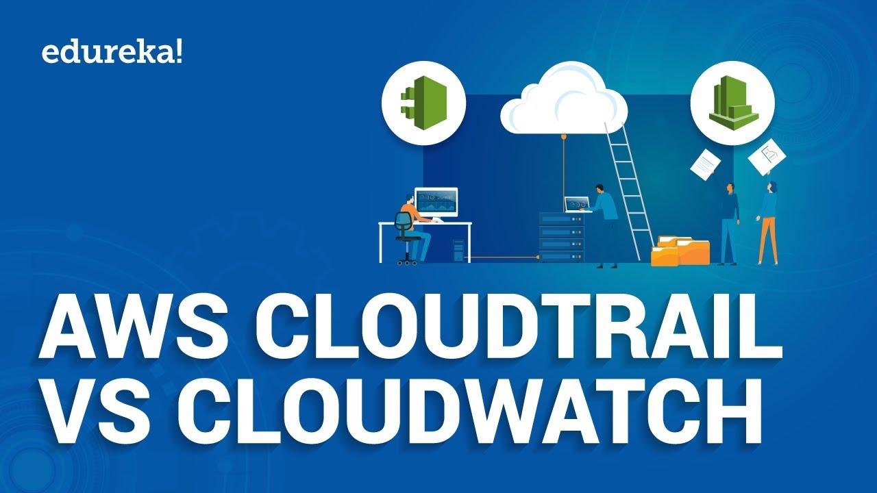 AWS CloudTrail vs Amazon CloudWatch   AWS Monitoring Services   AWS Training