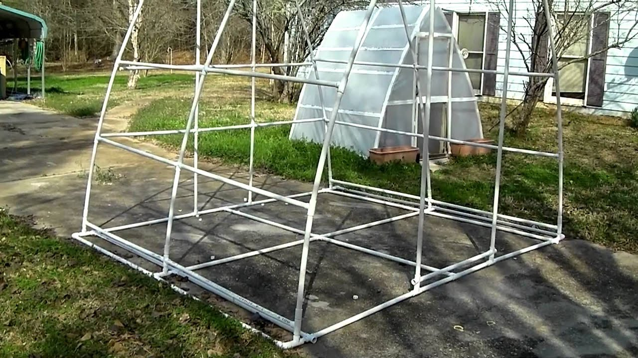 How To Run Plumbing Improved Bigger Better Pvc Pipe Greenhouse Soil