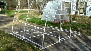 Improved Bigger Better PVC Pipe Greenhouse Soil Hydroponics Plain 2 Grow System Part 1