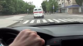 Очевидцы сняли налет истребителей ВСУ на Луганск.  АТО / War in Ukraine