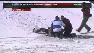 Caleb Moore fatal X-Games Snowmobile Crash thumbnail