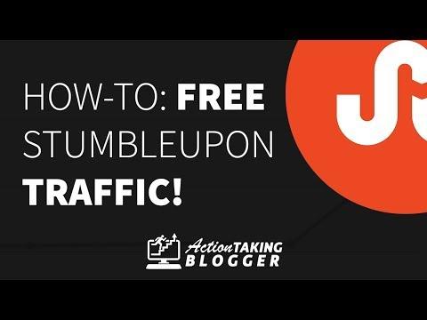 How to Get Free Traffic from StumbleUpon