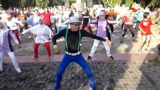 Senam Goyang Dumang Arul Zain Lombok Super Heboh