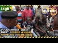 Nigeria News Today: Police Arrest 'Sweet Sweet' Codeine Vendor, Suspected Cult Members | Legit TV
