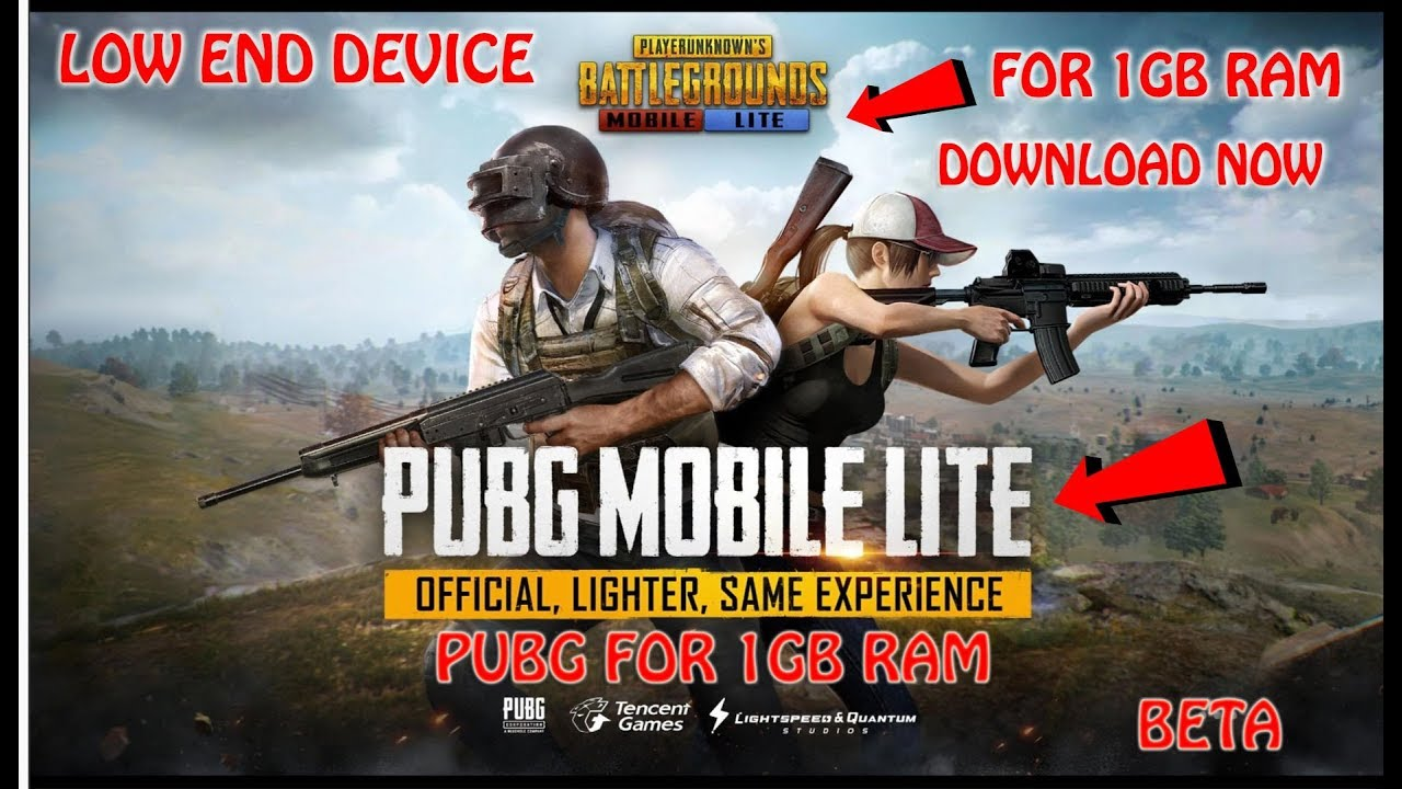 PUBG MOBILE LITE FOR 1GB RAM, LOW END DEVICE, DOWNLOAD NOW