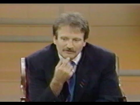 Robin Williams Interview on Donahue in 1989