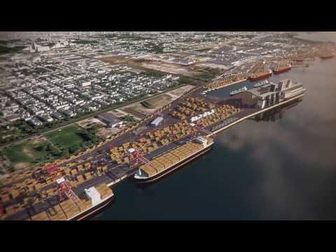 Vidéo 3D du Port de Montréal