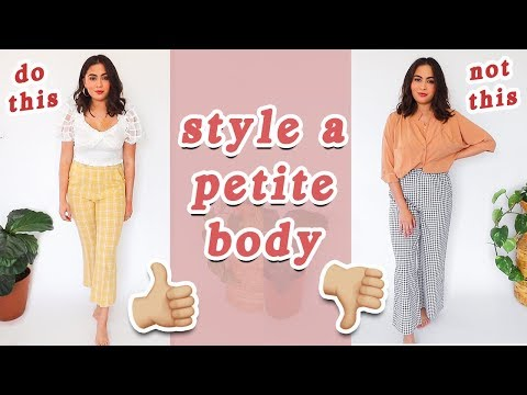 15 PETITE STYLING TIPS // How to Style a Petite Body Type ♡. Http://Bit.Ly/2KBtGmj.