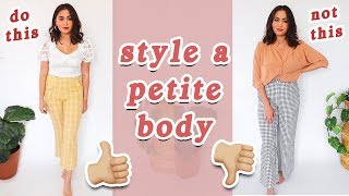 15 PETITE STYLING TIPS // How to Style a Petite Body Type ♡