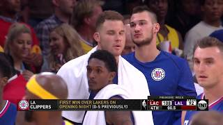 Los Angeles Clippers vs Los Angeles Lakers: October 19, 2017