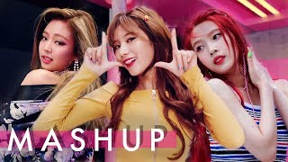 Video TWICE x BLACKPINK x RED VELVET – Likey /As If It's Your Last /Red Flavor  (Likey/마지막처럼/빨간 맛) MASHUP download MP3, 3GP, MP4, WEBM, AVI, FLV Januari 2018