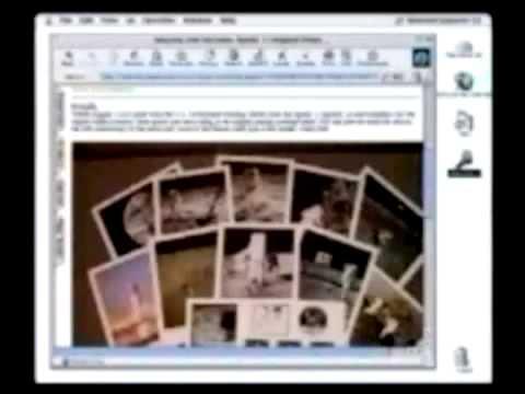 Noah Wyle with Steve Jobs in Macworld NY 1999