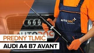 Vymeniť Tlmiče perovania AUDI A4: dielenská príručka