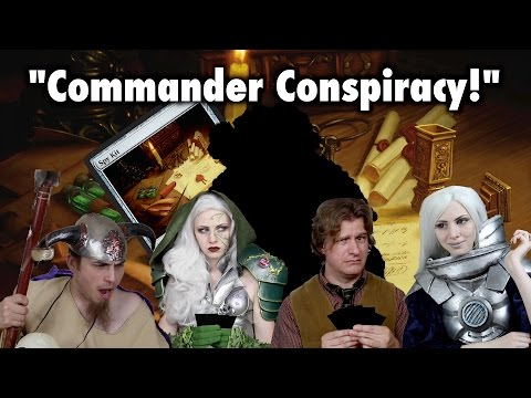 "MTG - ""The Commander Conspiracy"" (spoiler / preview for Magic: The Gathering)"
