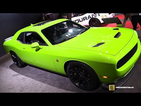 2019 Dodge Challenger RT Scat Pack - Exterior and Interior Walkaround - 2019 NY Auto Show