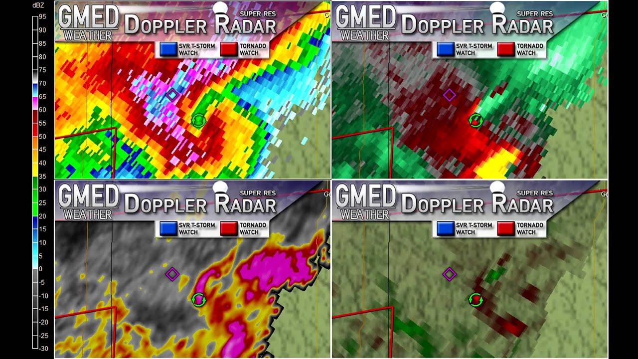 GrLevelX Radar Images