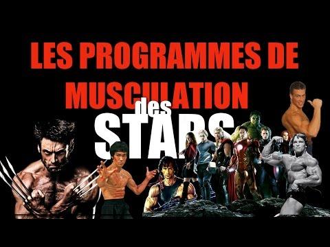 Les programmes de musculation des stars ?