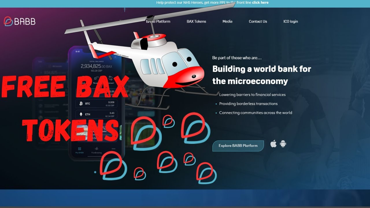 BABB (BAX) Token Airdrop 2020 + The Lucrative BABB Referral Program
