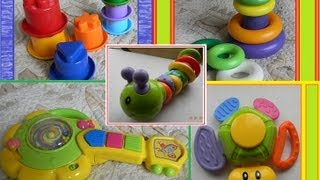 видео Игрушки и игры для детей 6  9 месяцев   игрушки для детей 8 месяцев