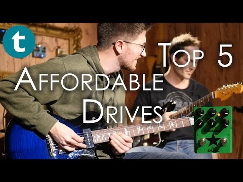 Top 5 | Affordable Overdrive Pedals | Demo