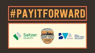 #PayItForward From Tommy Ahlquist, BVA Dev, Saltzer Health & Crush The Curve Idaho